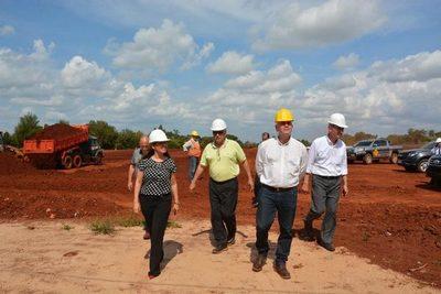 Mina Guazú: inician construcción de cárcel para 1300 personas