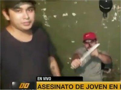 Revelan video de amenaza a supuesto autor de crimen en Ñemby