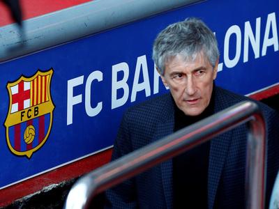 Setién asume como director técnico de Barcelona