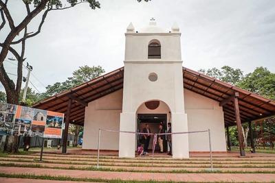 Templo restaurado San Francisco Solano de Yabebyry reabre sus puertas a la ciudadanía