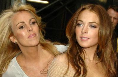 Madre de Lindsay Lohan fue arrestada por conducir ebria y darse a la fuga tras un accidente