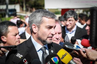 'Hay que limpiar todo el dinero', aseveró Mario Abdo