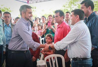 Abdo Benitez asegura que dejará obras que transformarán la vida de la gente