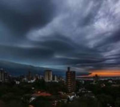 Alertan ante posibilidad de tormentas para 10 departamentos