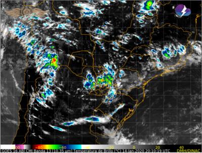 Alerta: Lluvias con tormentas eléctricas, ráfagas de vientos y la ocasional caída de granizos