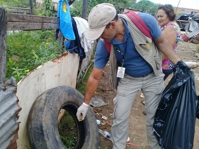 Dengue: Más de 1000 reportes de criaderos registra el sistema 911, en menos de una semana