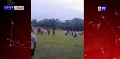 Incidentes durante torneo en Repatriación