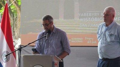 Financiamiento político: Abdo dice que «hay que limpiar todo el dinero»