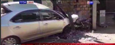 Múltiple choque de vehículos en Ciudad del Este