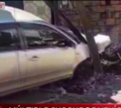 Ciudad del Este: Terrible accidente de tránsito