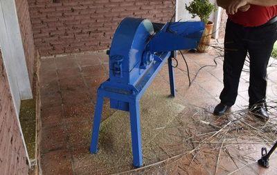 Trituradora para producción de abono