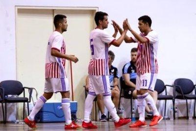 Selección Paraguaya de Futsal derrotó 6 a 1 a Uruguay