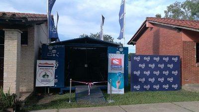 Inauguran telecentro en Yabebyry