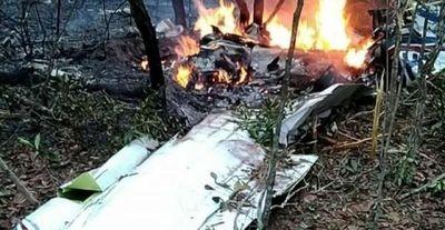 Piloto y esposa mueren al explotar avión en Campo Grande