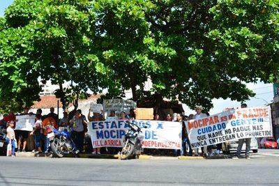 Dany Durand es ideólogo de estafas en Mocipar, aseguran en manifestación