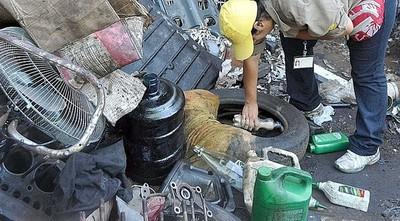 Lambaré: recolectores que no quieran llevar cubiertas serán sumariados