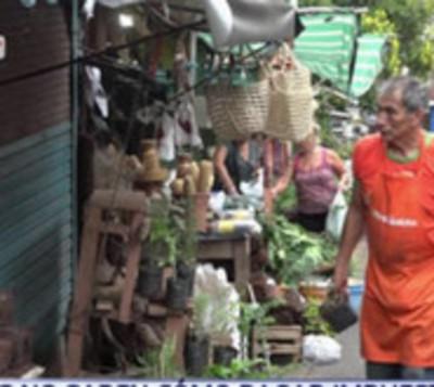 Vendedores ambulantes repudian impuestos de la SET