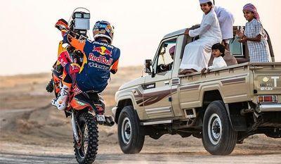 Dakar 2020: Fuertes ráfagas de viento y poca visibilidad acortaron bastante la Etapa 10