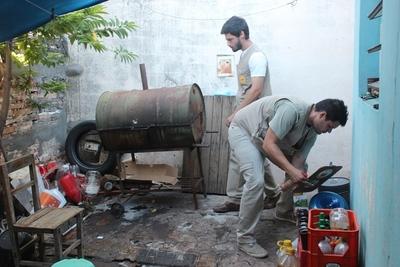 Senepa avanza con limpieza en barrios de Central e insta a vecinos para apoyar lucha contra el dengue