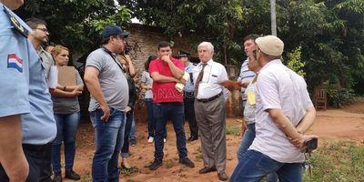 Desalojo en J. Augusto Saldívar: posible hecho de extorsión y estafa