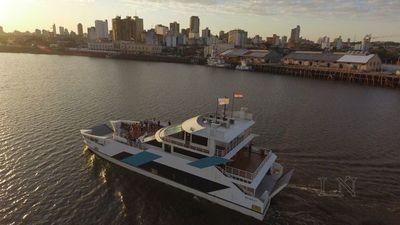 Ferry del Chaco no operará por falla en el timón este jueves