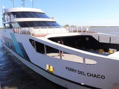 Ferry del Chaco está fuera de servicio por una avería en el timón