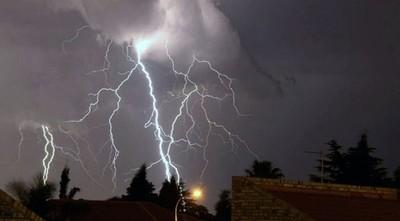 Alerta de posibles tormentas en seis departamentos