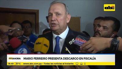 Mario Ferreiro presenta descargo en fiscalía