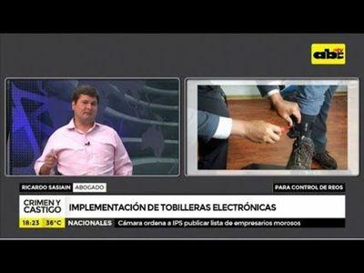 Implementación de las tobilleras electrónicas