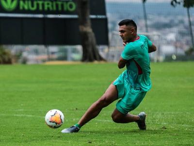 Cristian Colmán ya entrena con el Barcelona