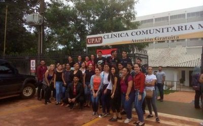 Estudiantes de UPAP se manifiestan ante cierre de una de sus sedes