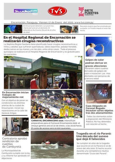 Todas las noticias en nuestra Portada Digital