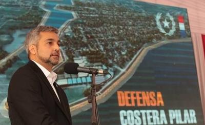 HOY / ¿El final de las inundaciones en Pilar? Firman contrato para franja costera