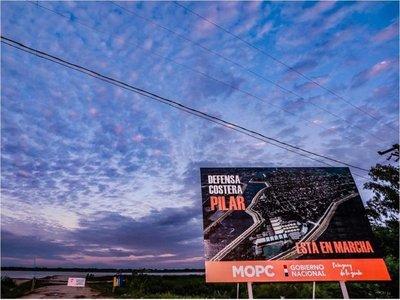 """Gobierno apunta a """"cambiar la historia de Pilar"""" con la soñada defensa costera"""