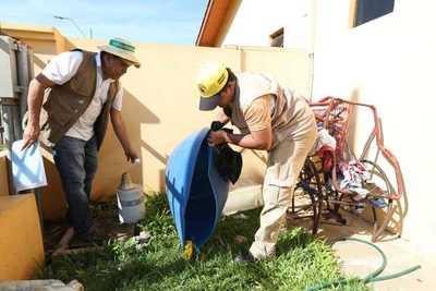 Senepa destruye más de 115.000 criaderos de mosquitos a nivel país