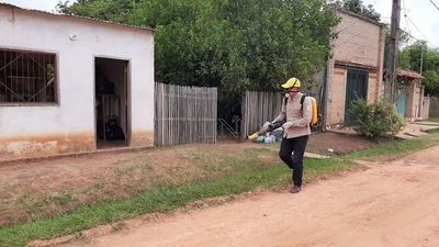 Realizan gran minga ambiental en San Pedro para eliminar criaderos de dengue