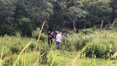 Familiares de Edelio ingresan al monte con la esperanza de encontrarlo