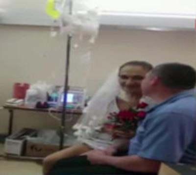 Emotiva boda en el Hospital Nacional de Itauguá