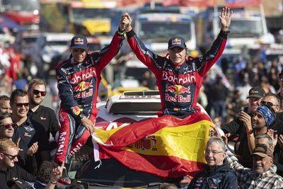 Carlos Sainz logra su tercer Dakar