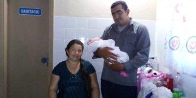 Nace beba gigante en Misiones