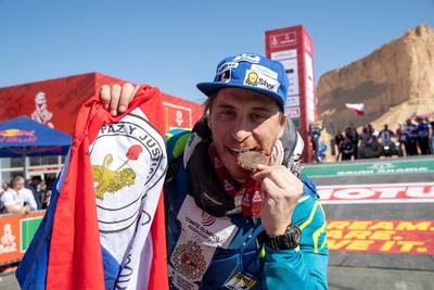 Nelson Sanabria completa su séptimo Dakar consecutivo