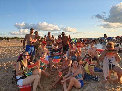 Villa Florida: Paisaje, camping y playa