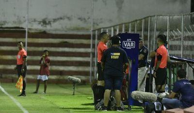 Gol anulado por el VAR