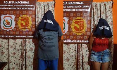 """Detienen a pareja de brasileños ligados a narcotráfico y con antecedentes de """"protección policial"""""""