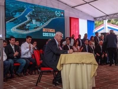 'Pilar es una causa nacional, hoy con el Gobierno venimos a decirles no más damnificados'- Arnoldo Wiens