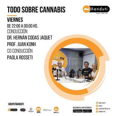 Todo sobre cannabis con Hernán Codas Jaquet, Juan Khon y Paola Rosseti