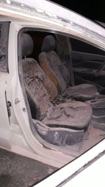 Pedro Juan: atentan contra vehículo con bomba molotov