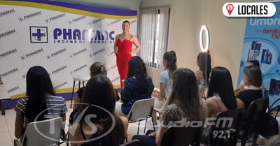 Pharmac presentó taller de técnica de maquillaje artístico para carnavales