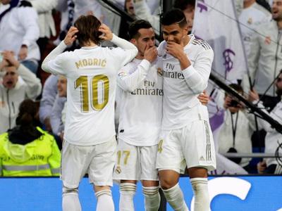 Real Madrid se impone ante Sevilla y llega a la cima de la Liga