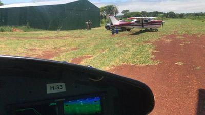 Incautan aeronave, armas y cocaína en Amambay